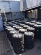 Мерседес диски с шинами