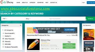 PHP скрипт Каталог | PHP скрипты блог